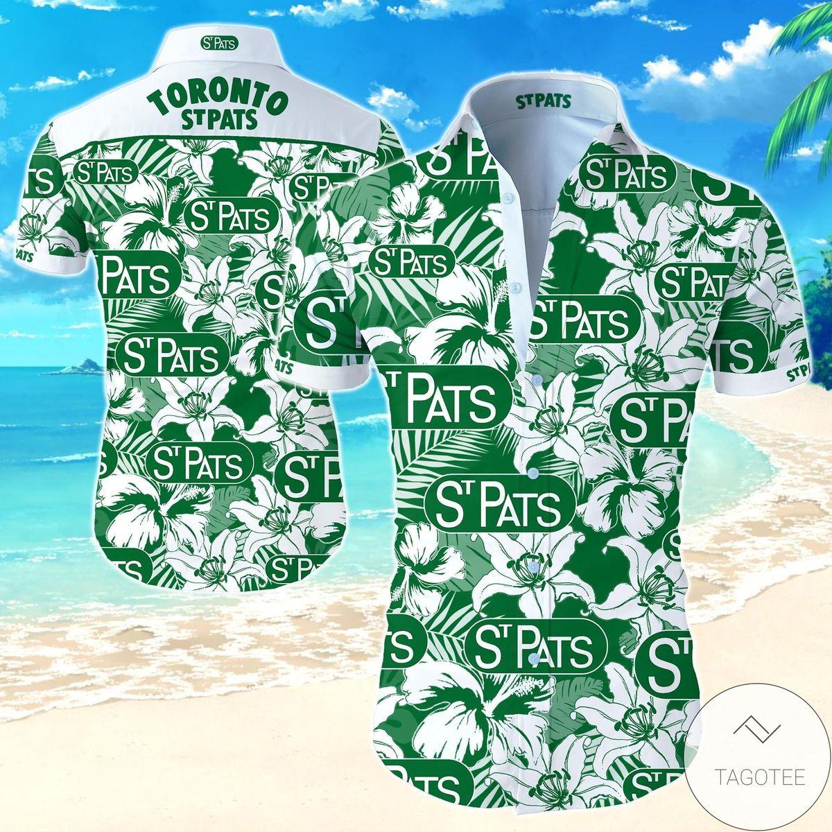 Toronto St Patricks Hawaiian Shirt