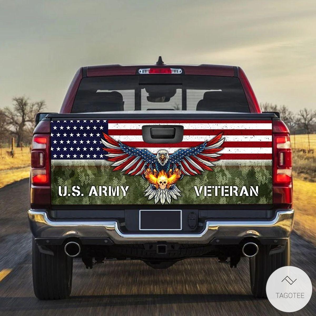 U.S. Army Veteran Tailgate Wrap