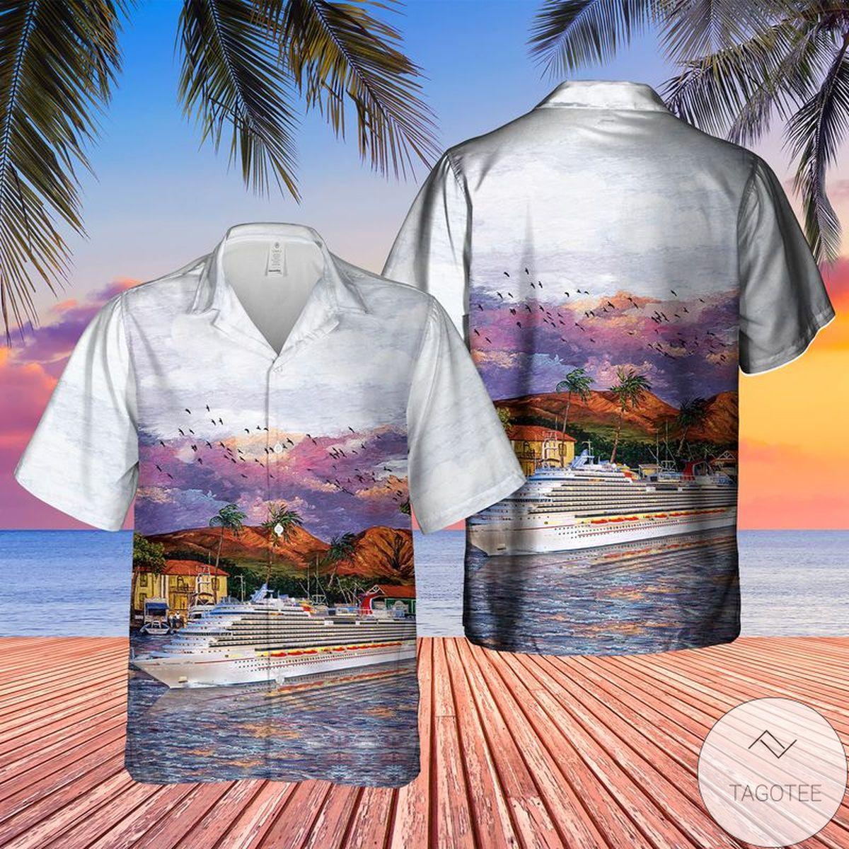 US Cruise Carnival Vista Hawaiian Shirt