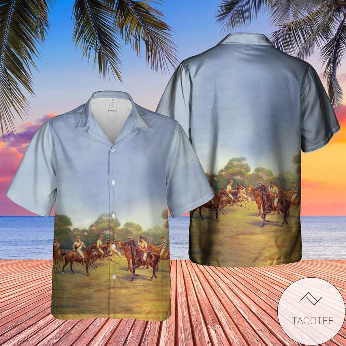 US Sport of Polo Vintage Hawaiian Shirt