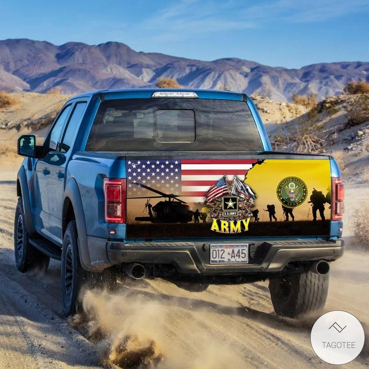 United States Army Tailgate Wrapz