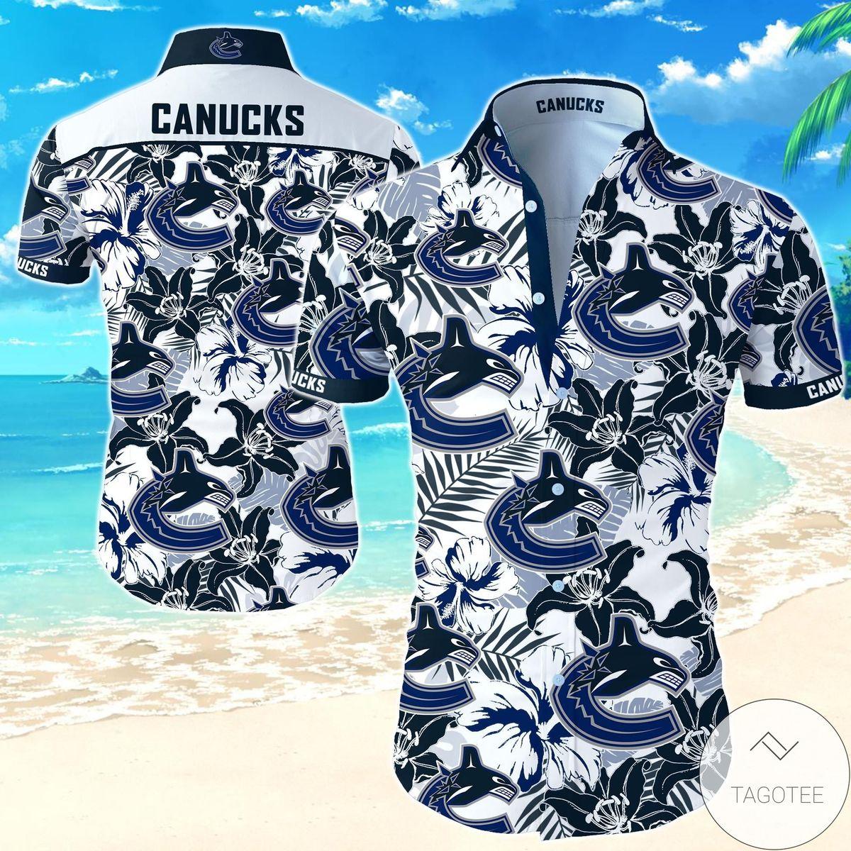 Vancouver Canucks Hawaiian Shirt