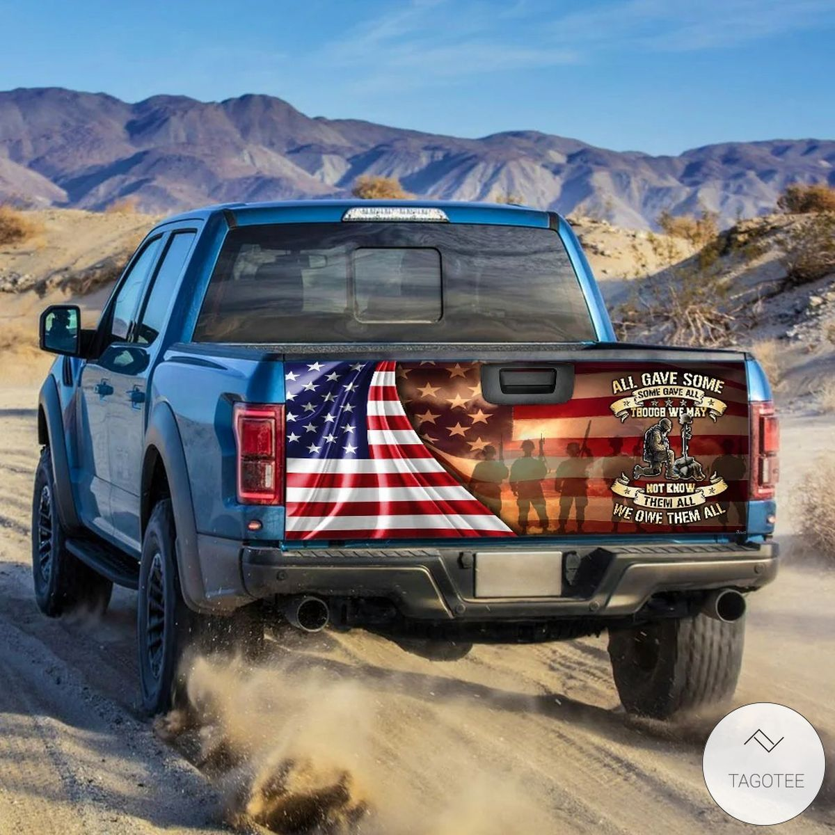Veteran All Gave Some Some Gave All Tailgate Wrapz