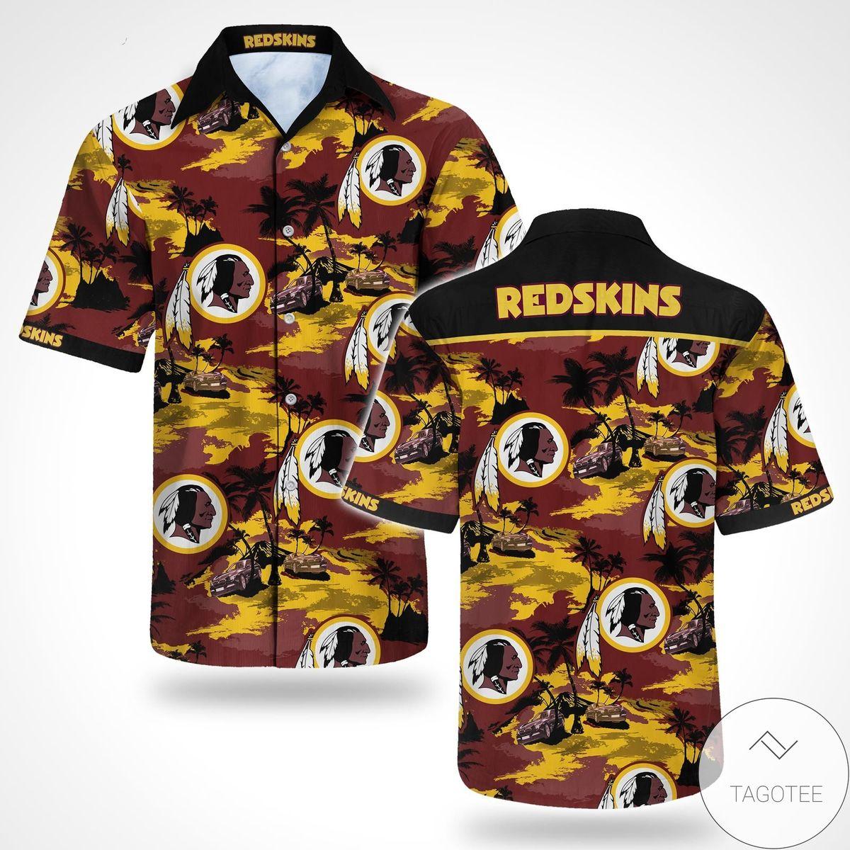 Washington Redskins Tommy Bahama Hawaiian Shirt
