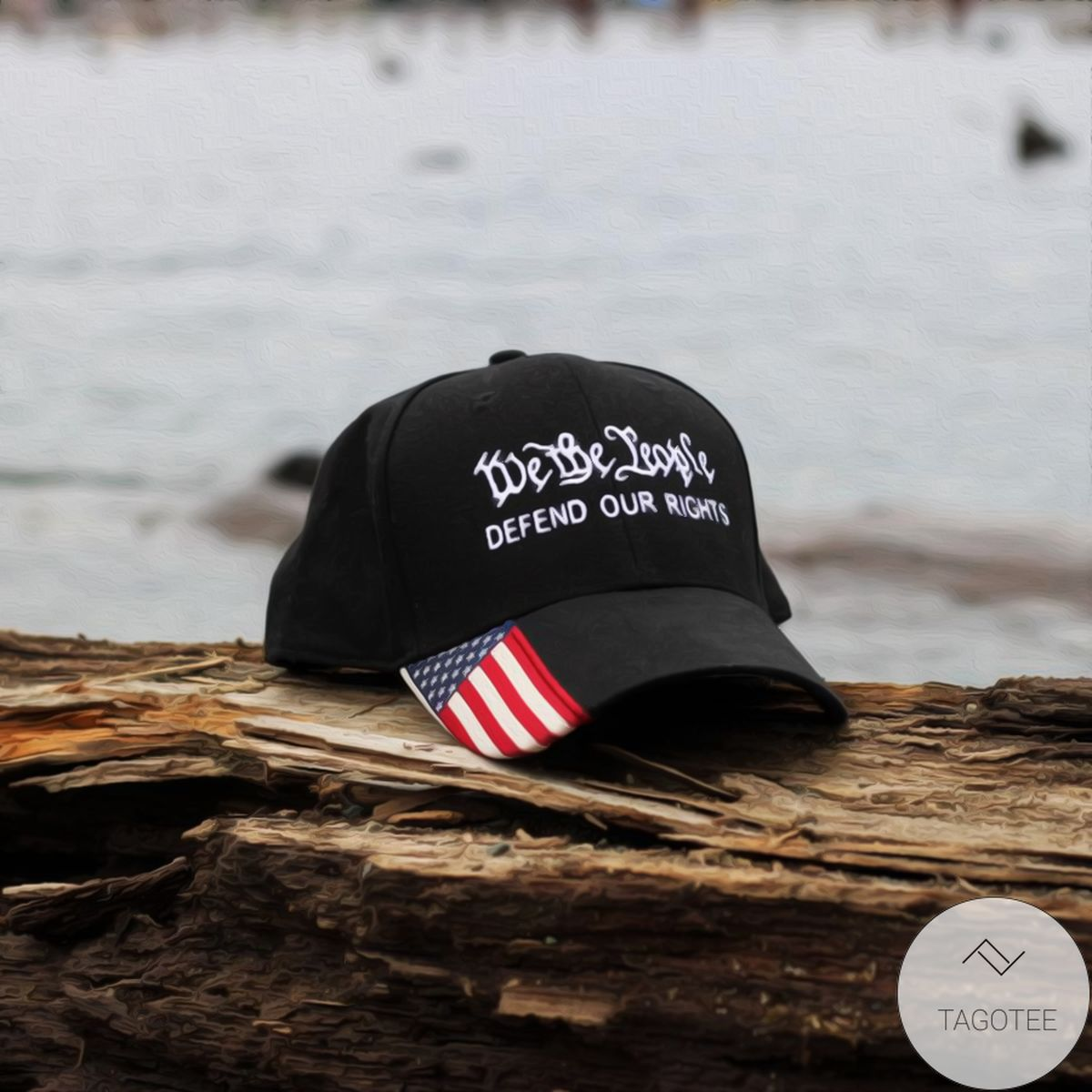 We The People Defend Our Rights Cap