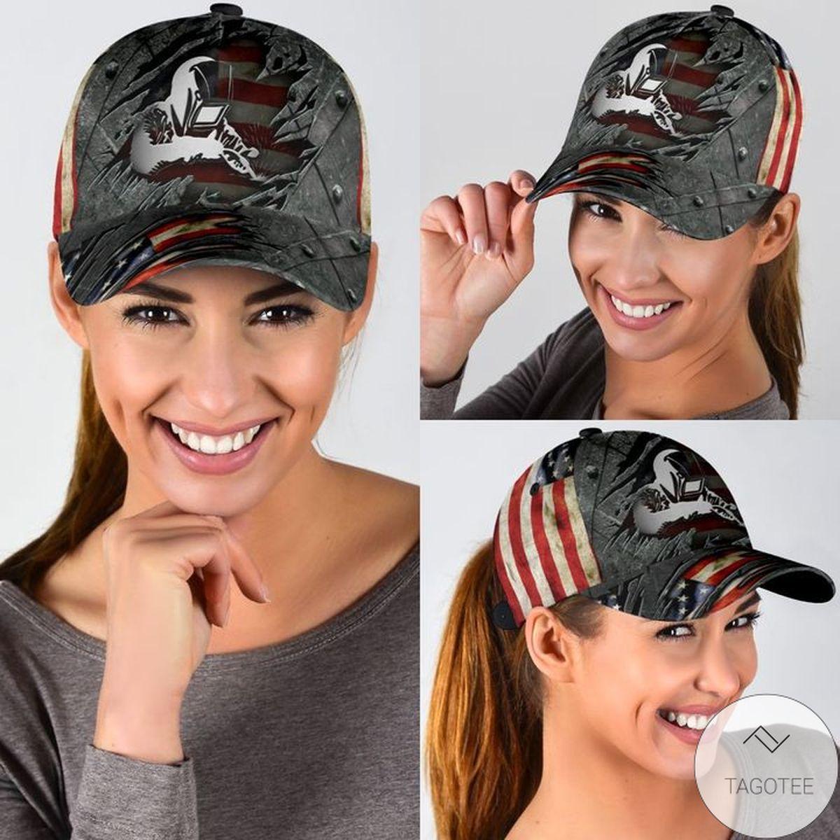 Welder US Flag Cap
