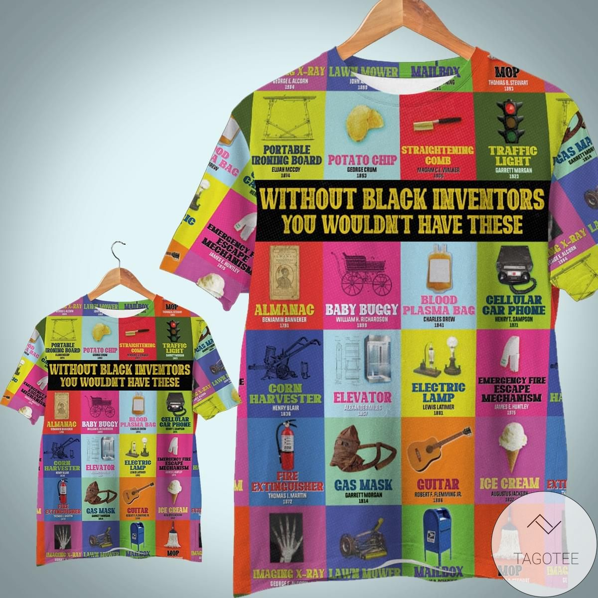 Without Black Invector You Wouldn't Have These 3D T-Shirt