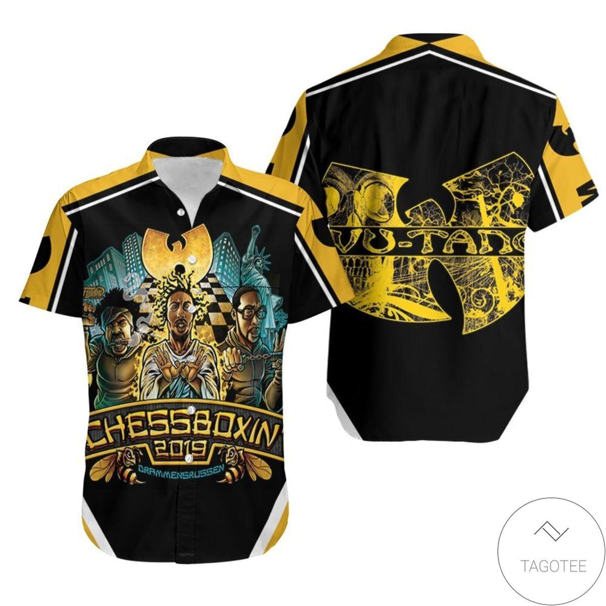 Wu Tang Clan Da Mystery Of Chessboxin' Legend For Hip Hop Fan Hawaiian Shirt