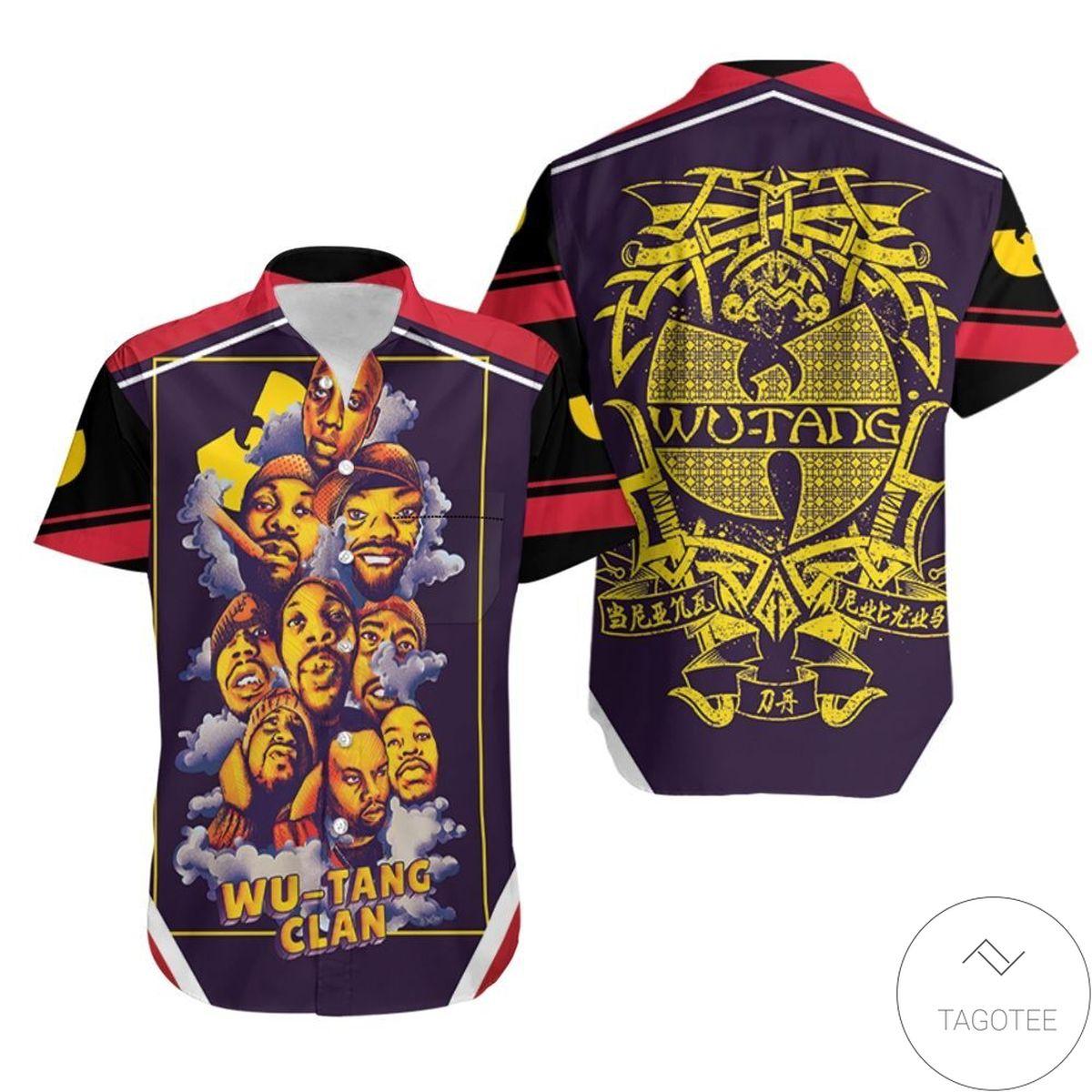 Wu Tang Clan Smoke Hawaiian Shirt