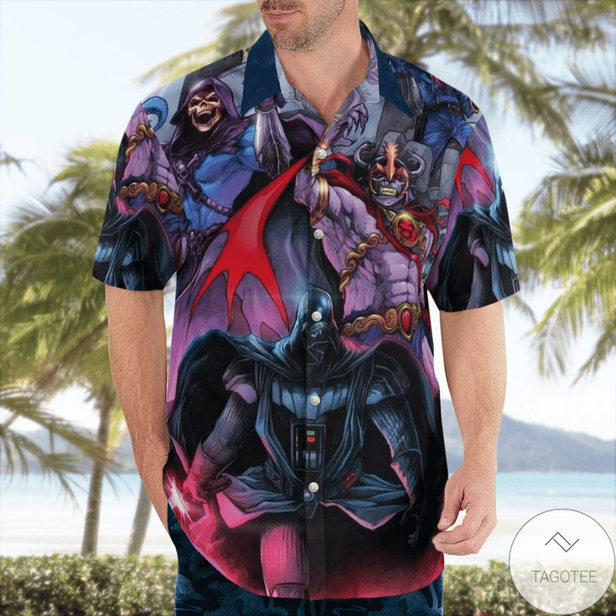 80s Villains Hawaiian Shirt