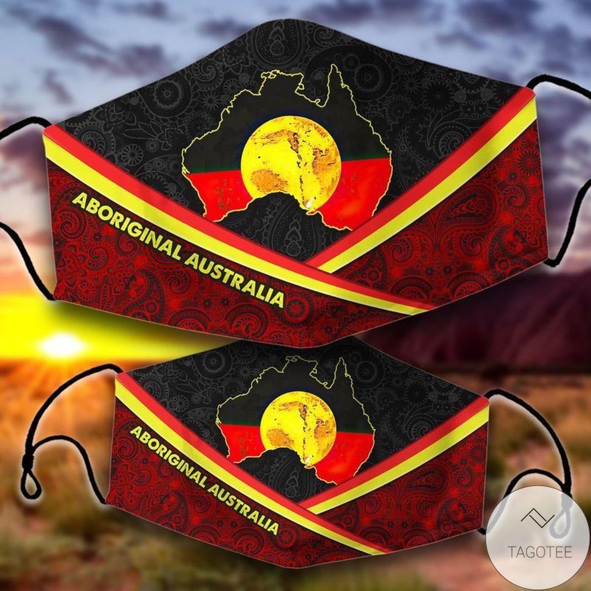Awesome Aboriginal Australia Mask