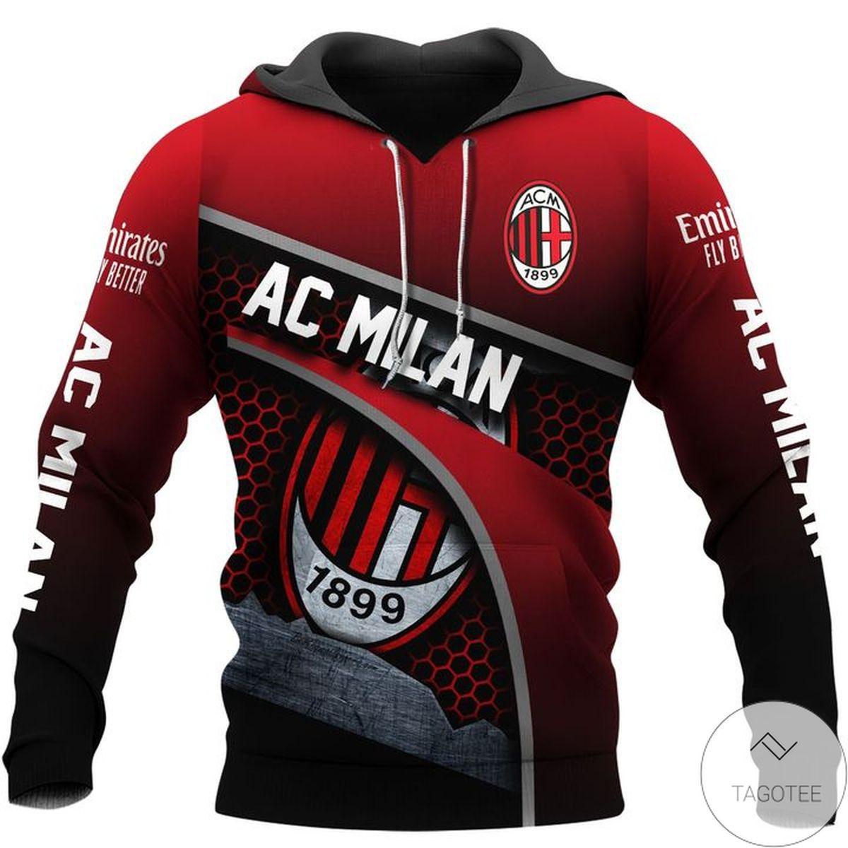 Ac Milan 1899 Rossoneri Hoodie