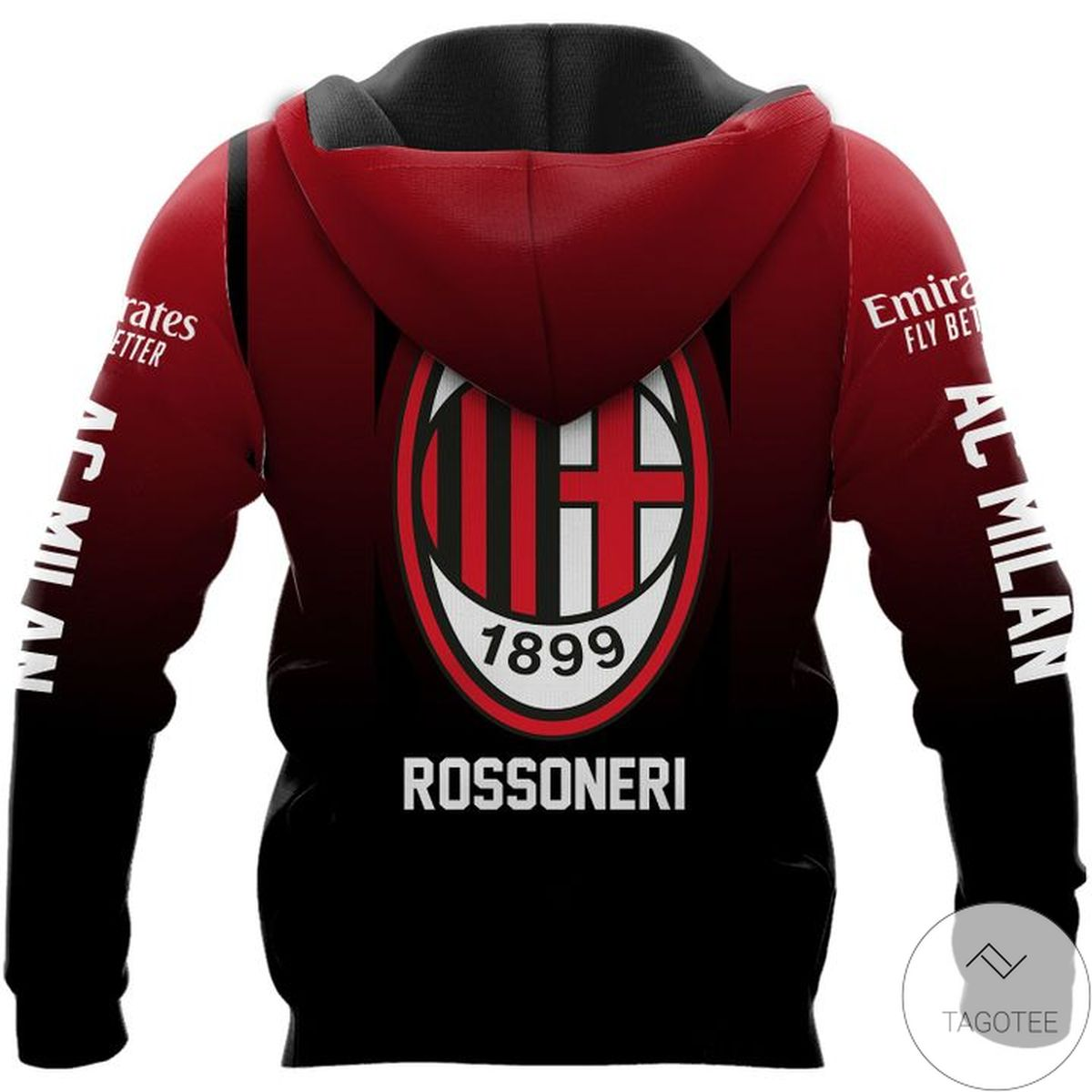 Ac Milan 1899 Rossoneri Hoodiez