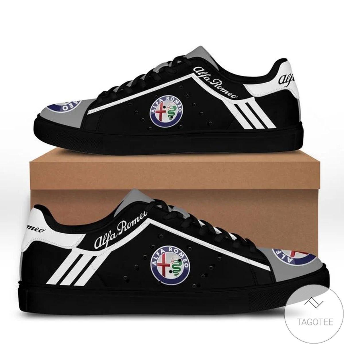 Top Rated Alfa Romeo Black Stan Smith Shoes