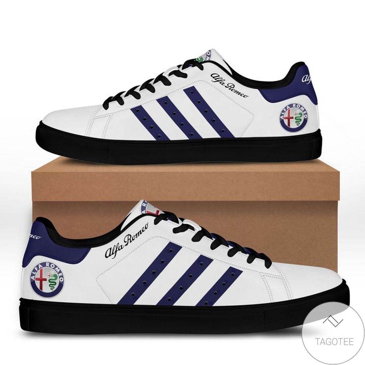 Absolutely Love Alfa Romeo Blue White Stan Smith Shoes