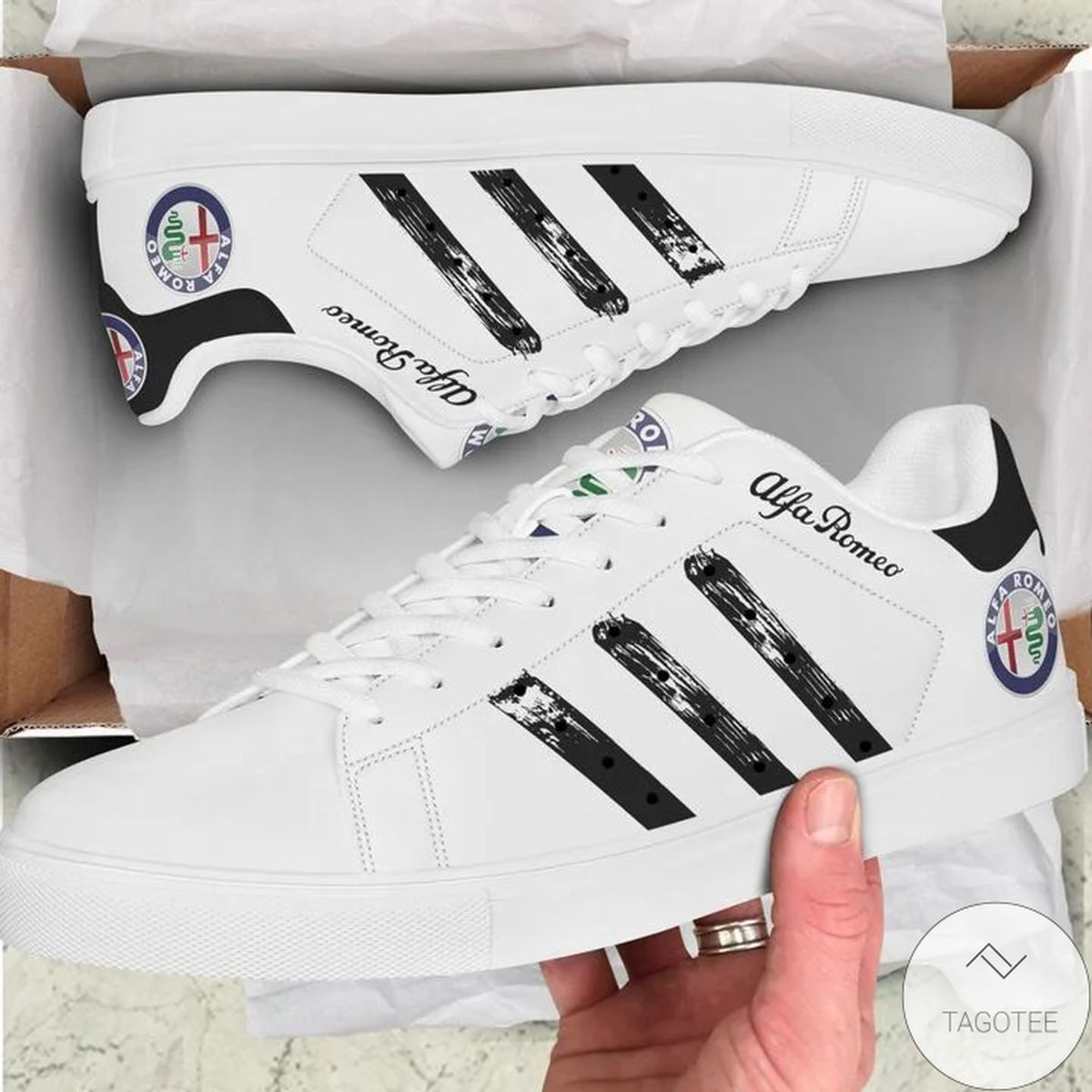 Absolutely Love Alfa Romeo Stan Smith Shoes