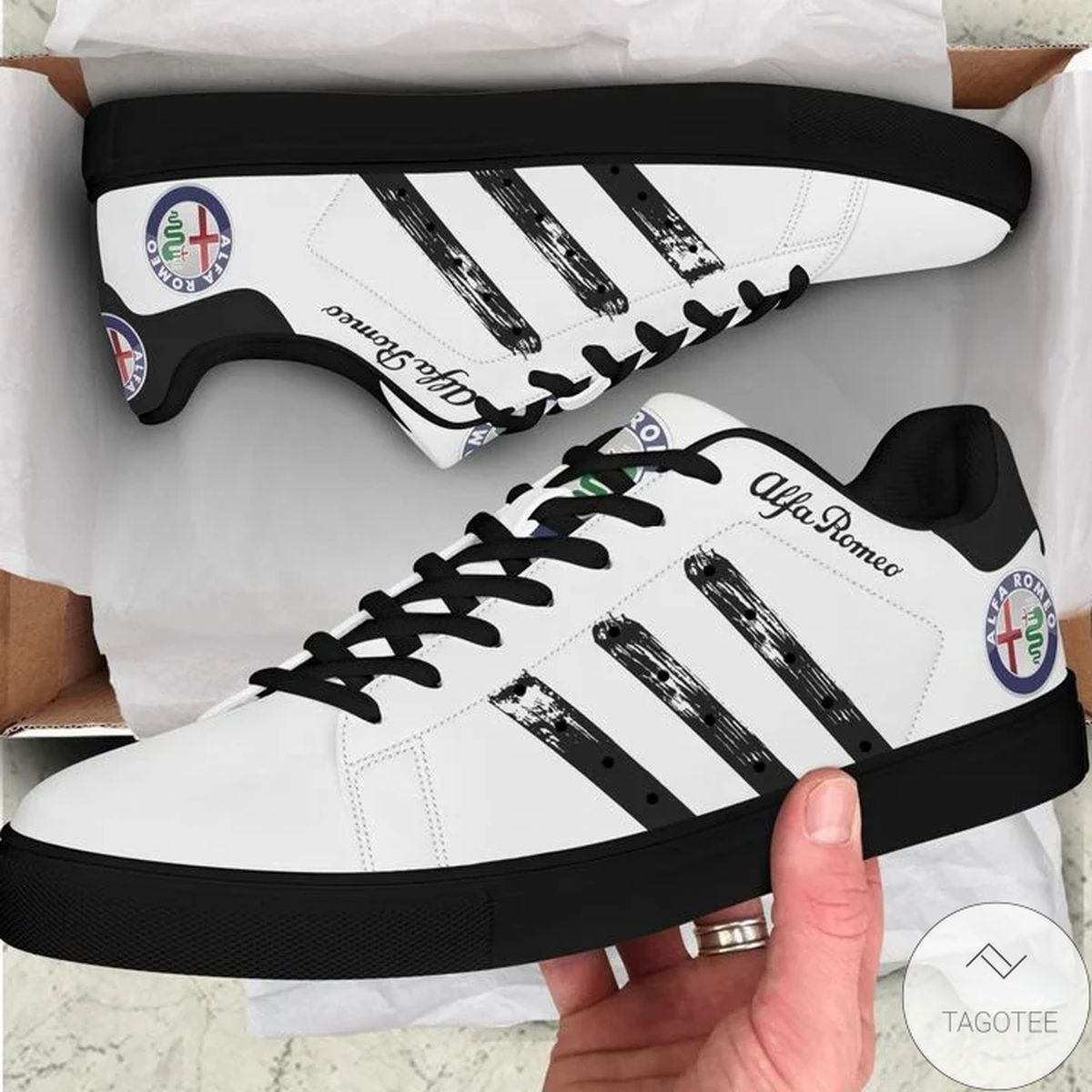 Alfa Romeo Stan Smith Shoes