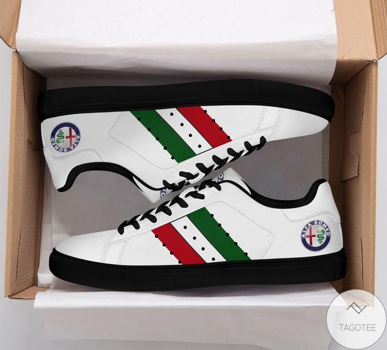 Us Store Alfa Romeo White Stan Smith Shoes