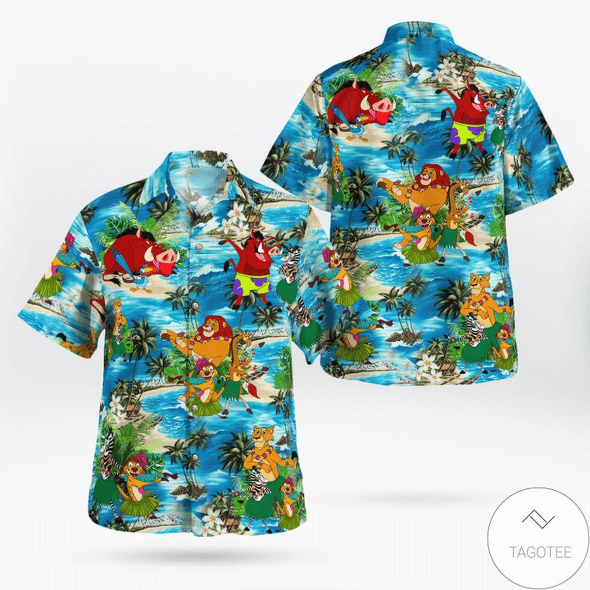 Aloha Hakuna Matata HuLa Dancing Hawaiian Shirt