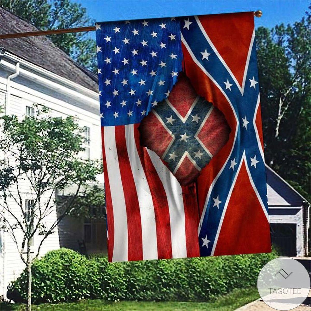American Confederate Battle Flag Proud Flag
