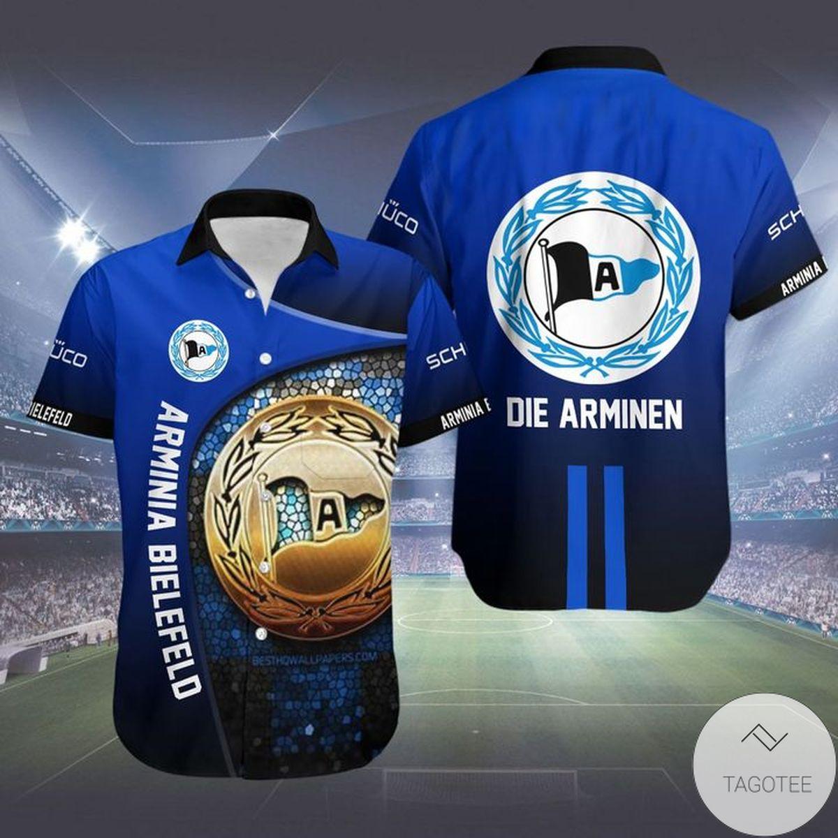 Arminia Bielefeld Die Arminen Hawaiian Shirt