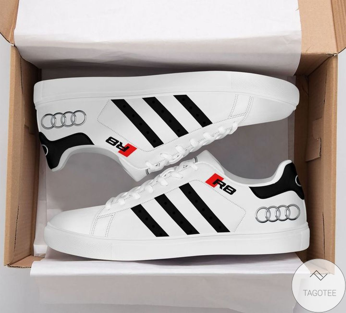 Rating Audi R8 Black Green Stan Smith Shoes
