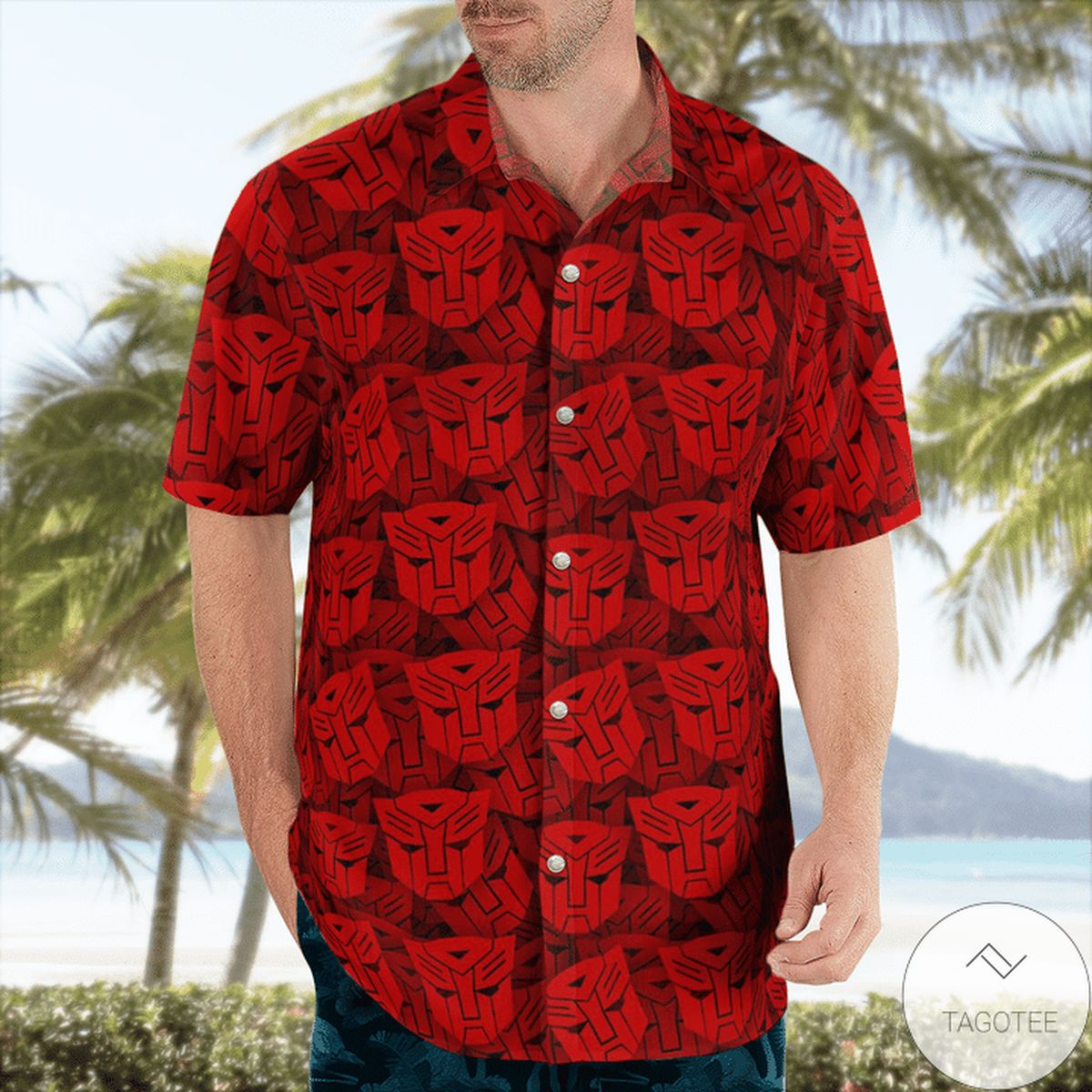Absolutely Love Autobot Transformer Hawaiian Shirt