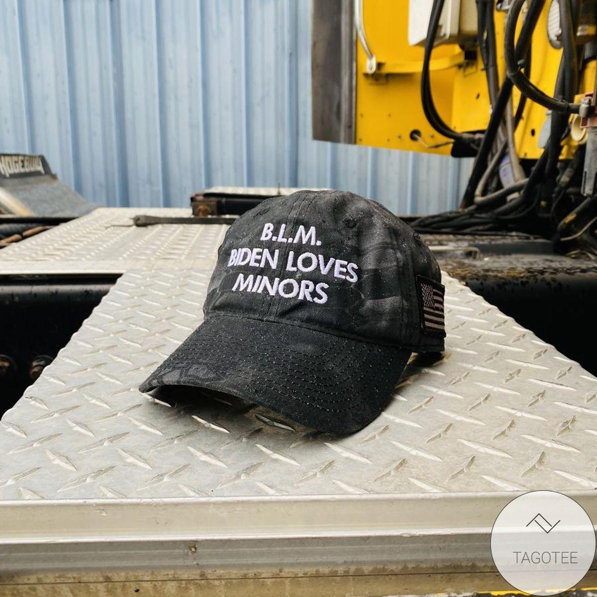 BLM Biden Loves Minors Cap