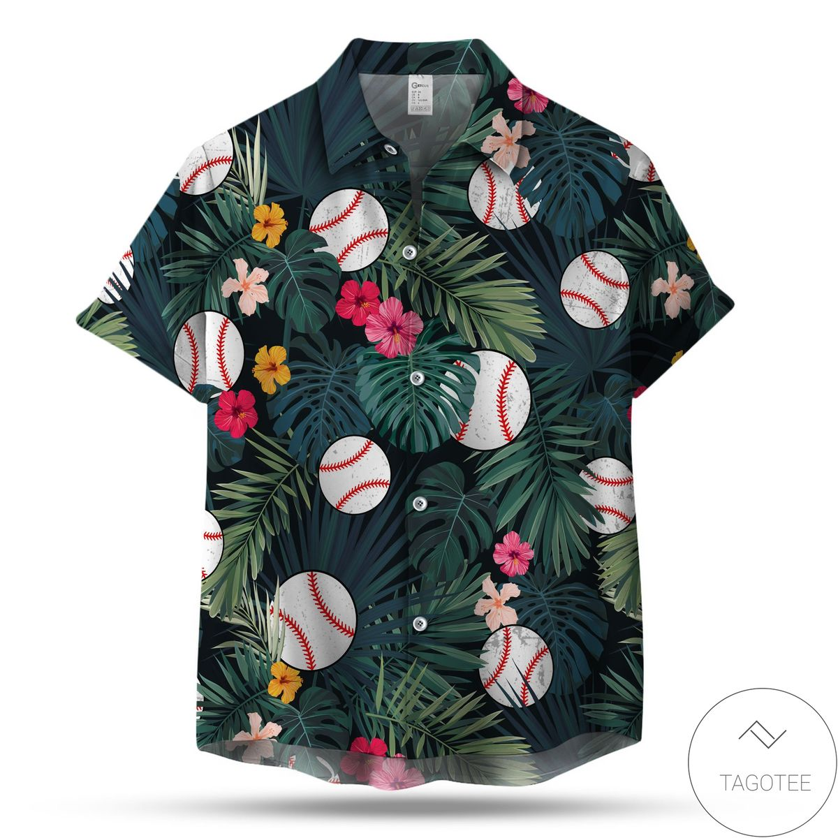Top Selling Baseball Pattern Hawaiian Shirt