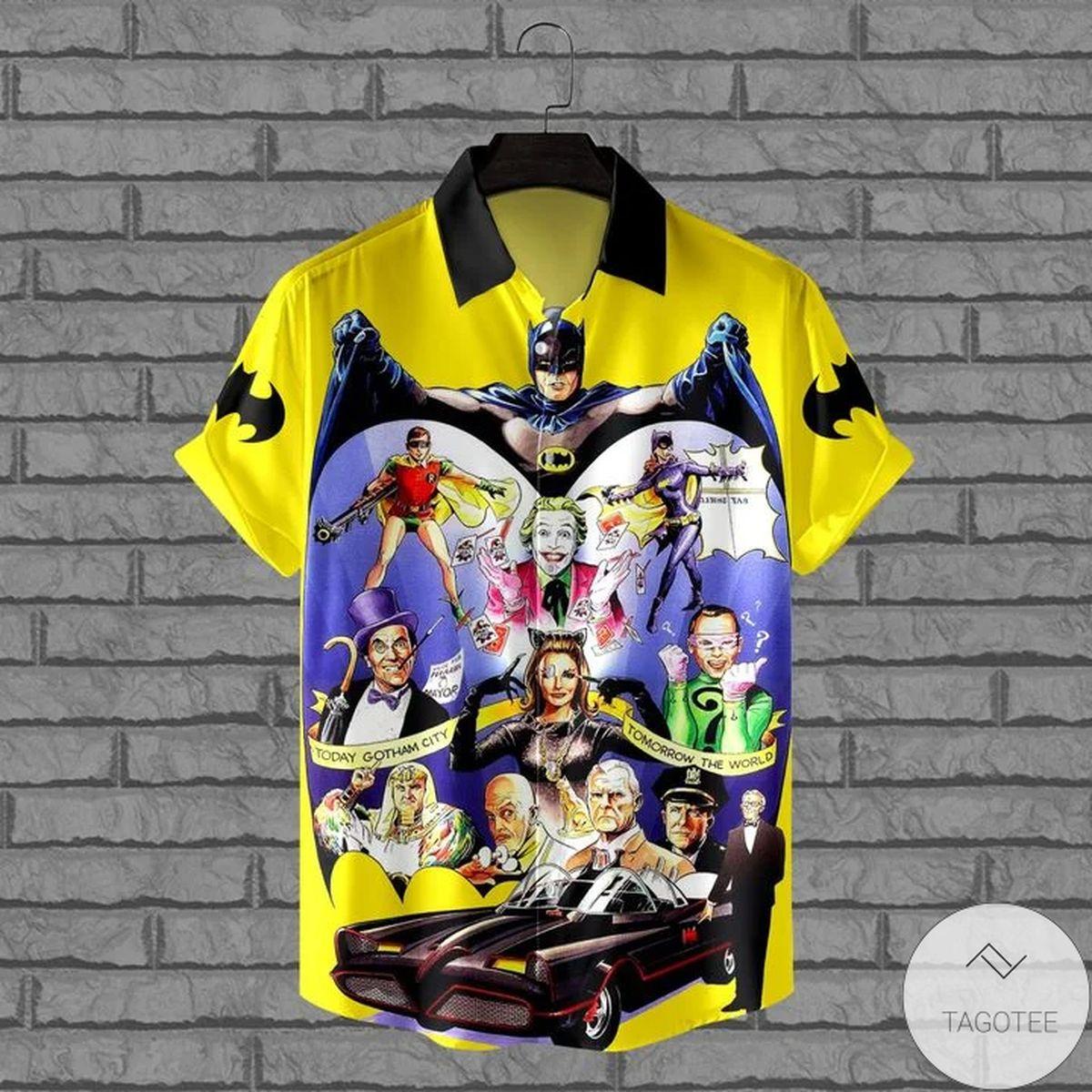 Luxury Batman 1966 Anniversary Hawaiian Shirt