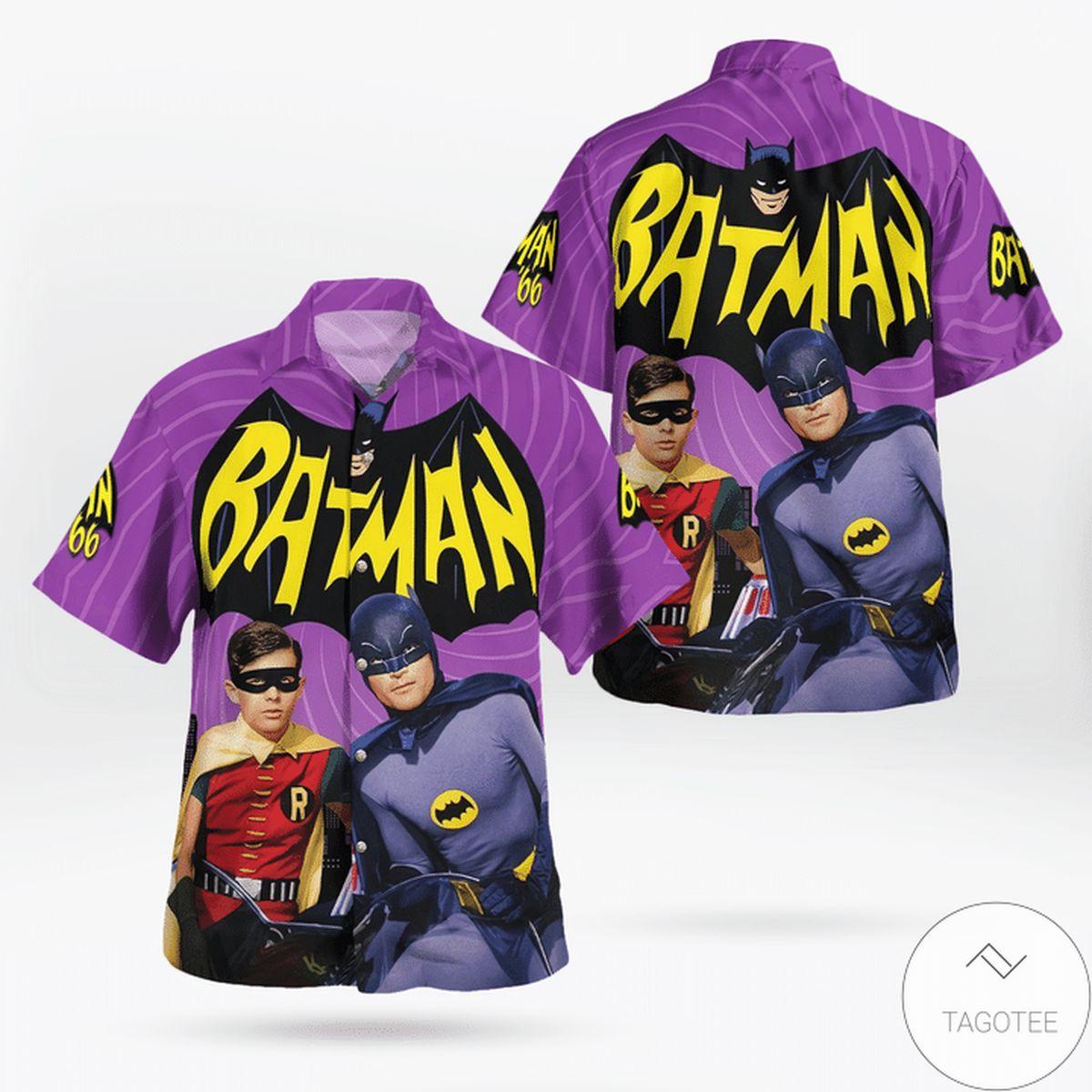 Adult Batman Adam West 1966 Hawaiian Shirt