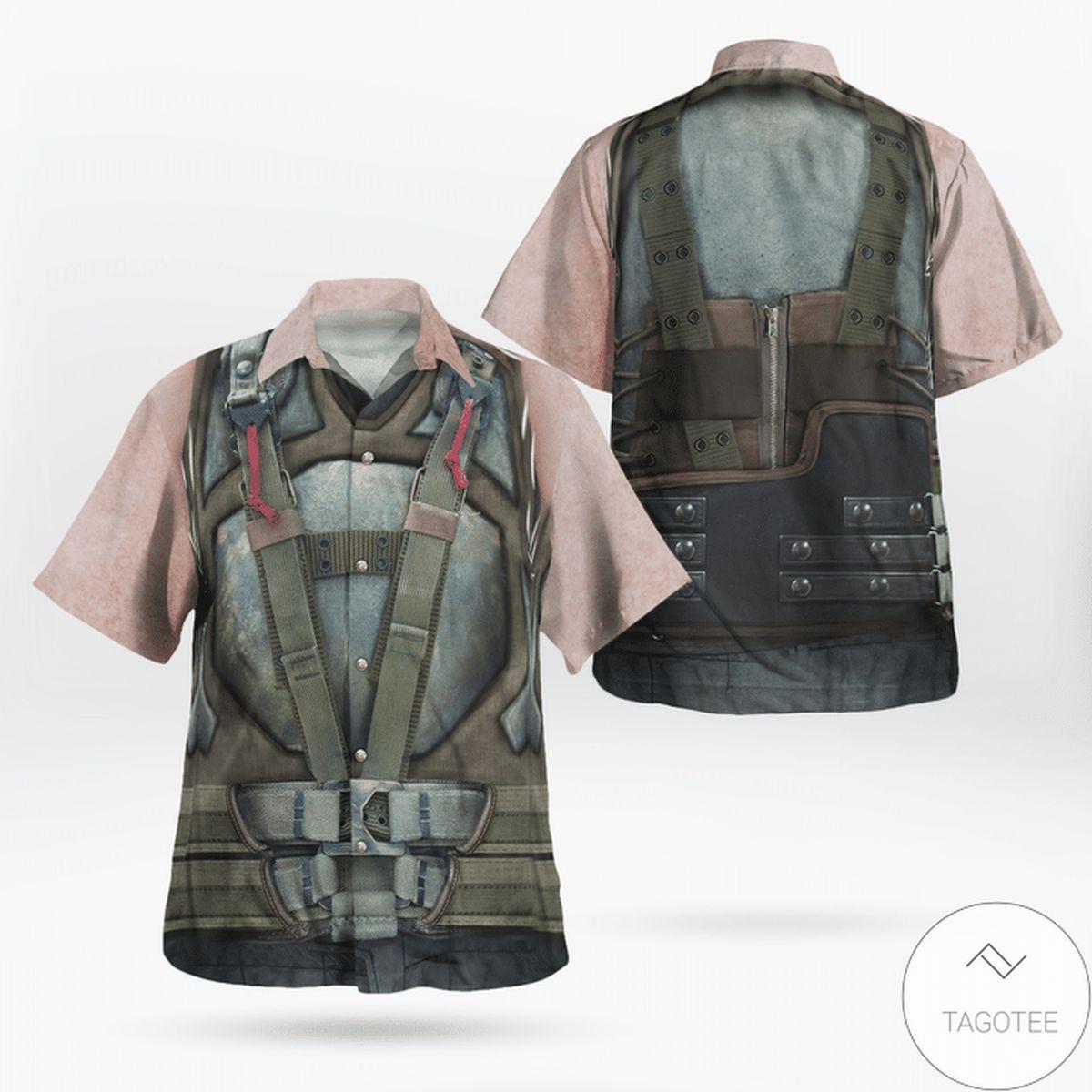 Vibrant Batman Bane Hawaiian Shirt
