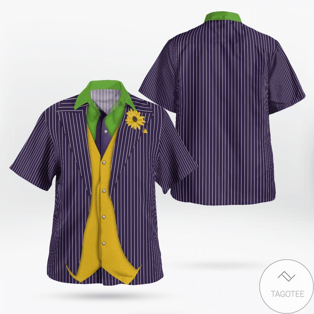 Batman Joker Cosplay Hawaiian Shirt