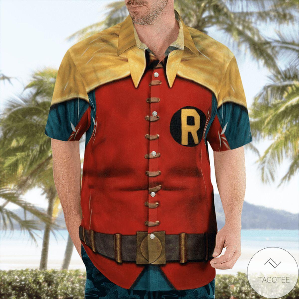 Review Batman Robin Hawaiian Shirt