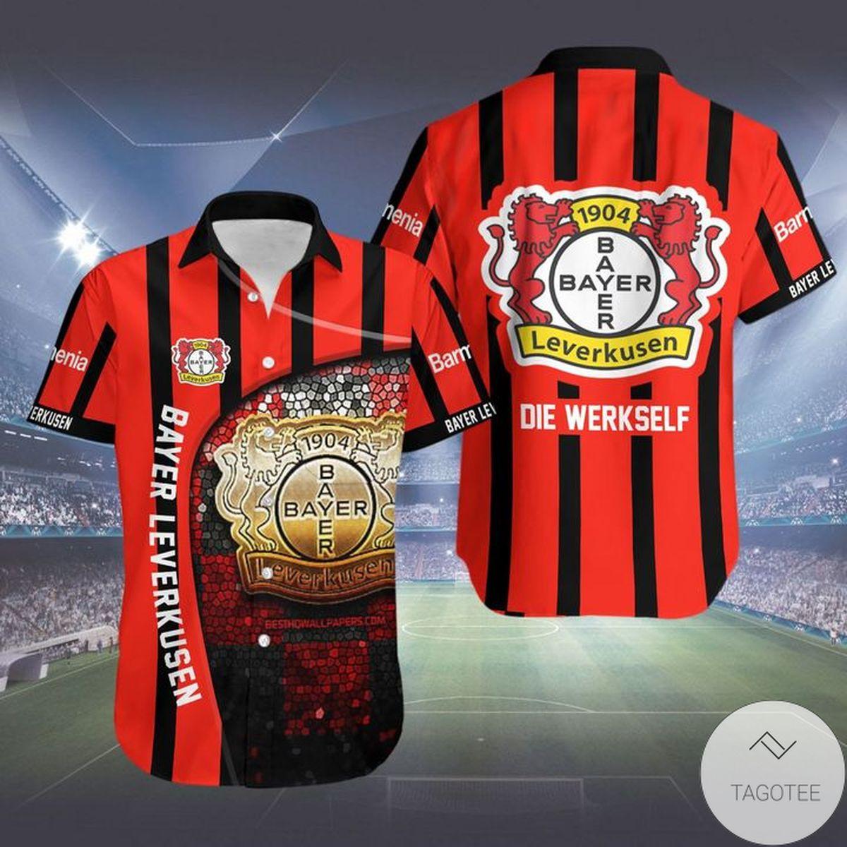Nice Bayer Leverkusen Hawaiian Shirt