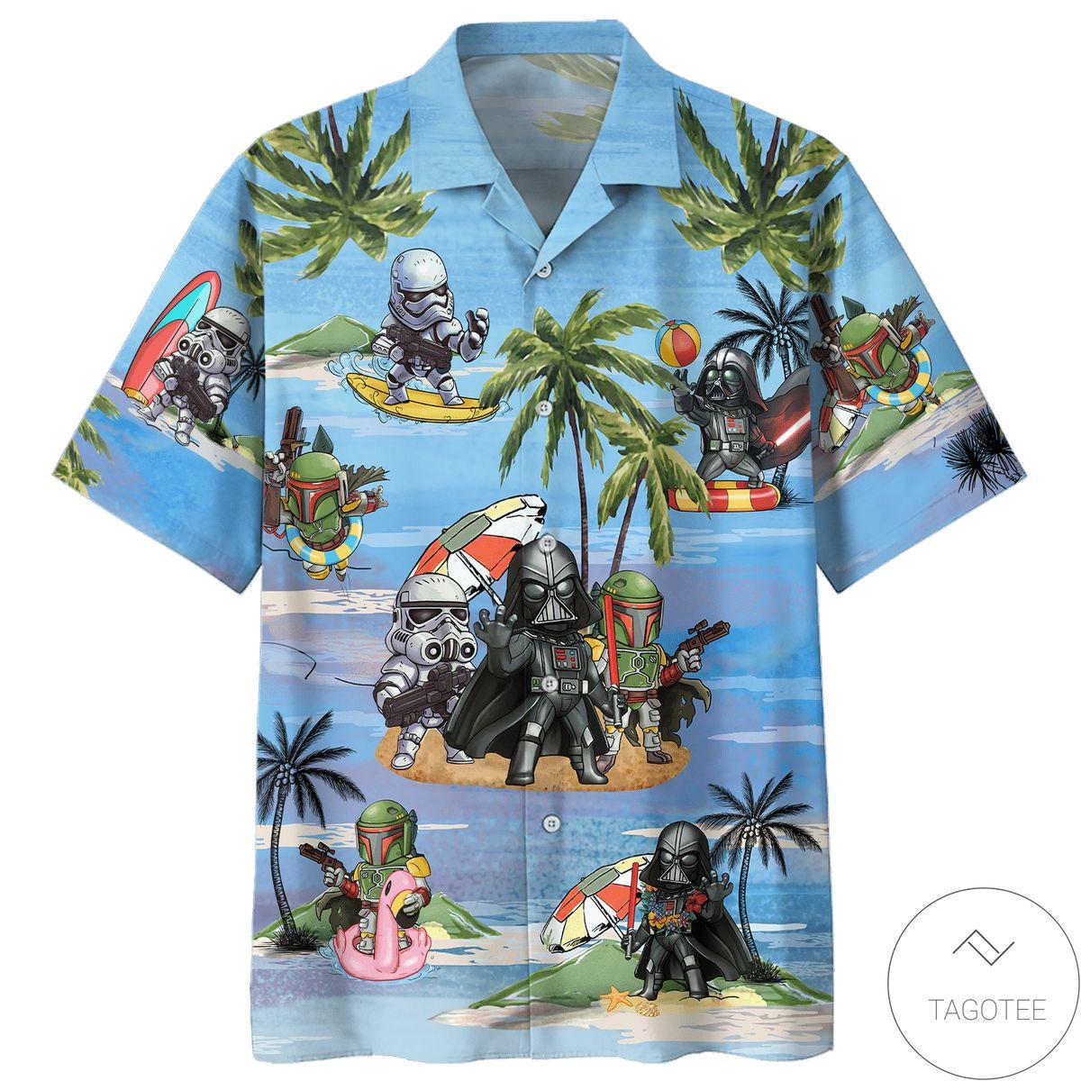 Best Gift Boba Fett Cartoon Summertime Hawaiian Shirt