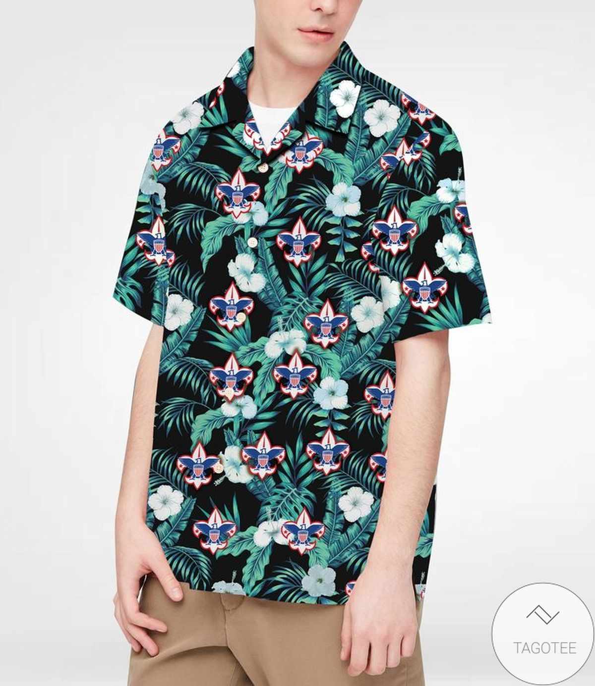 3D Boy Scouts Hawaiian Shirt
