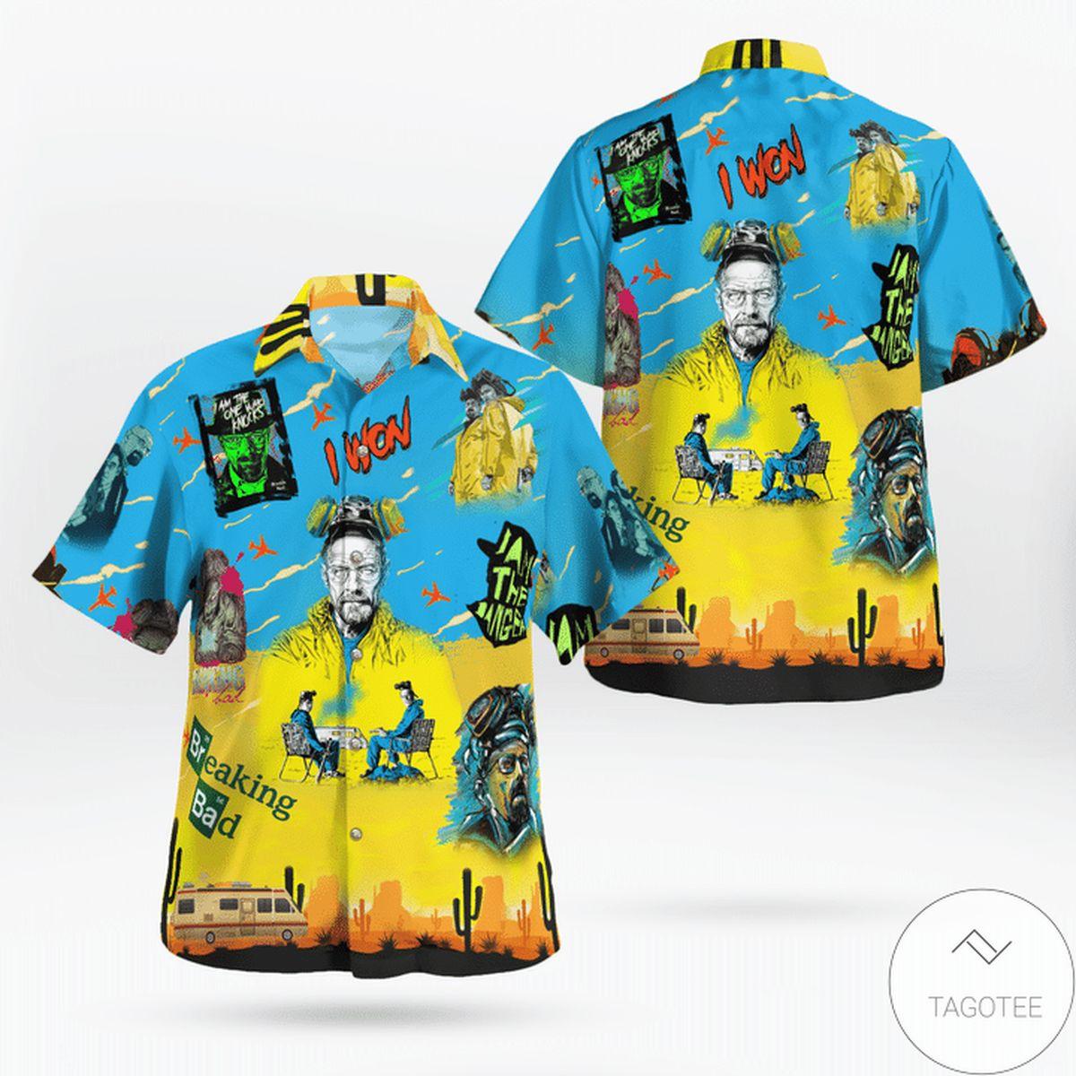 Fast Shipping Breaking Bad I Won Hawaiian Shirt