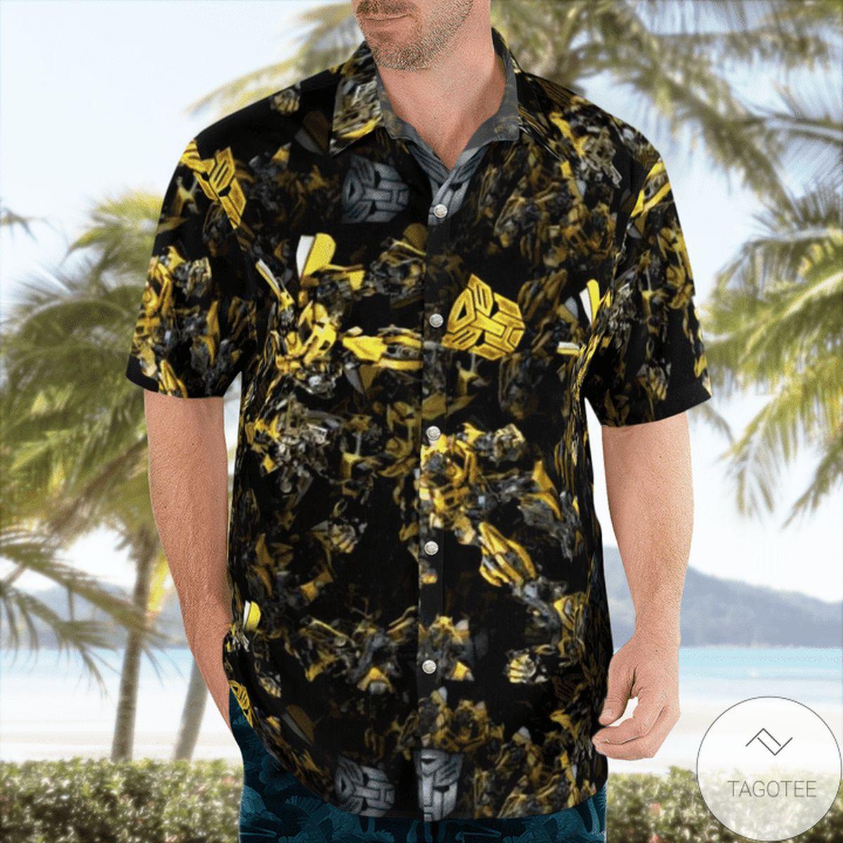 Bumblebee Hawaiian Shirt