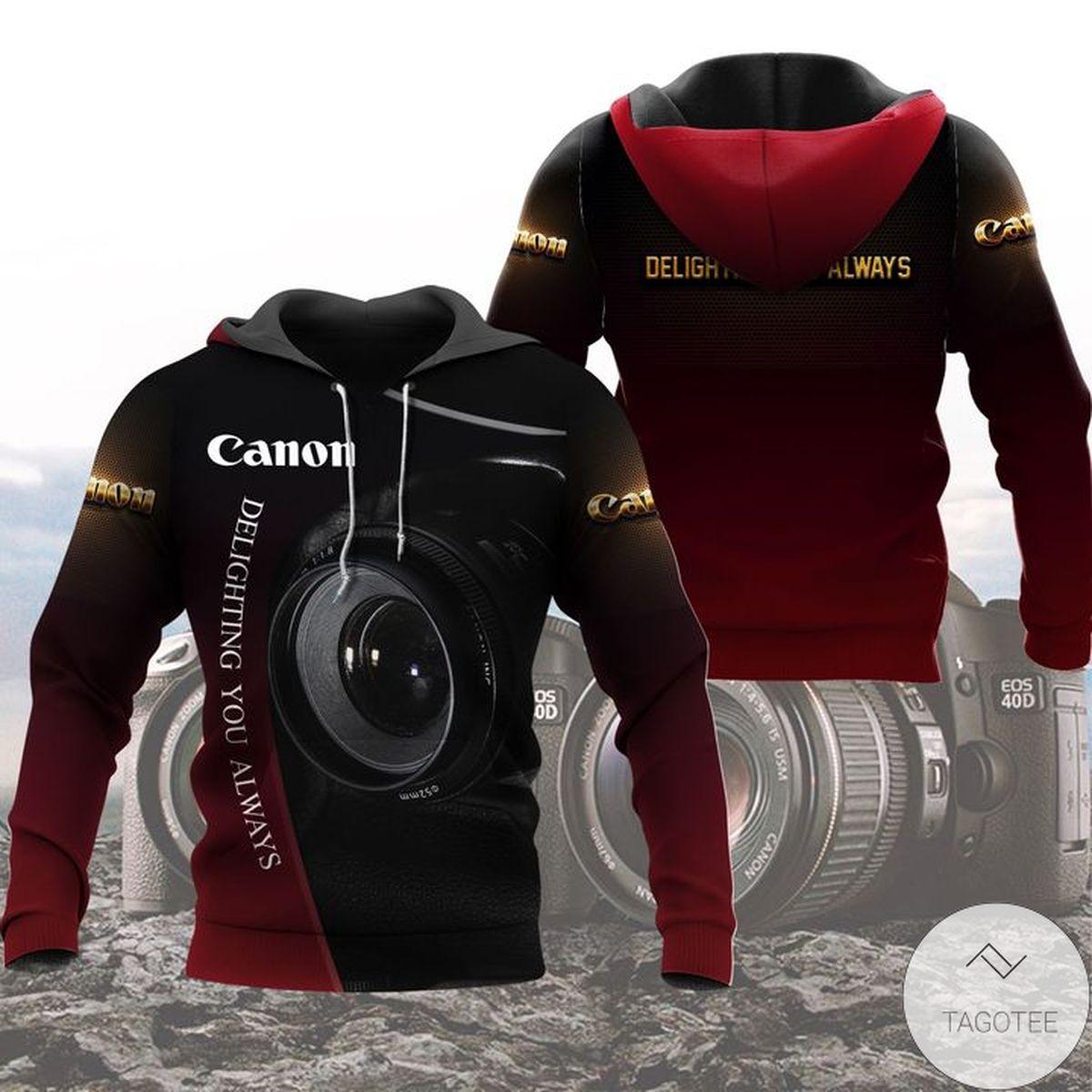 Top Selling Canon Delighting You Always Hoodie