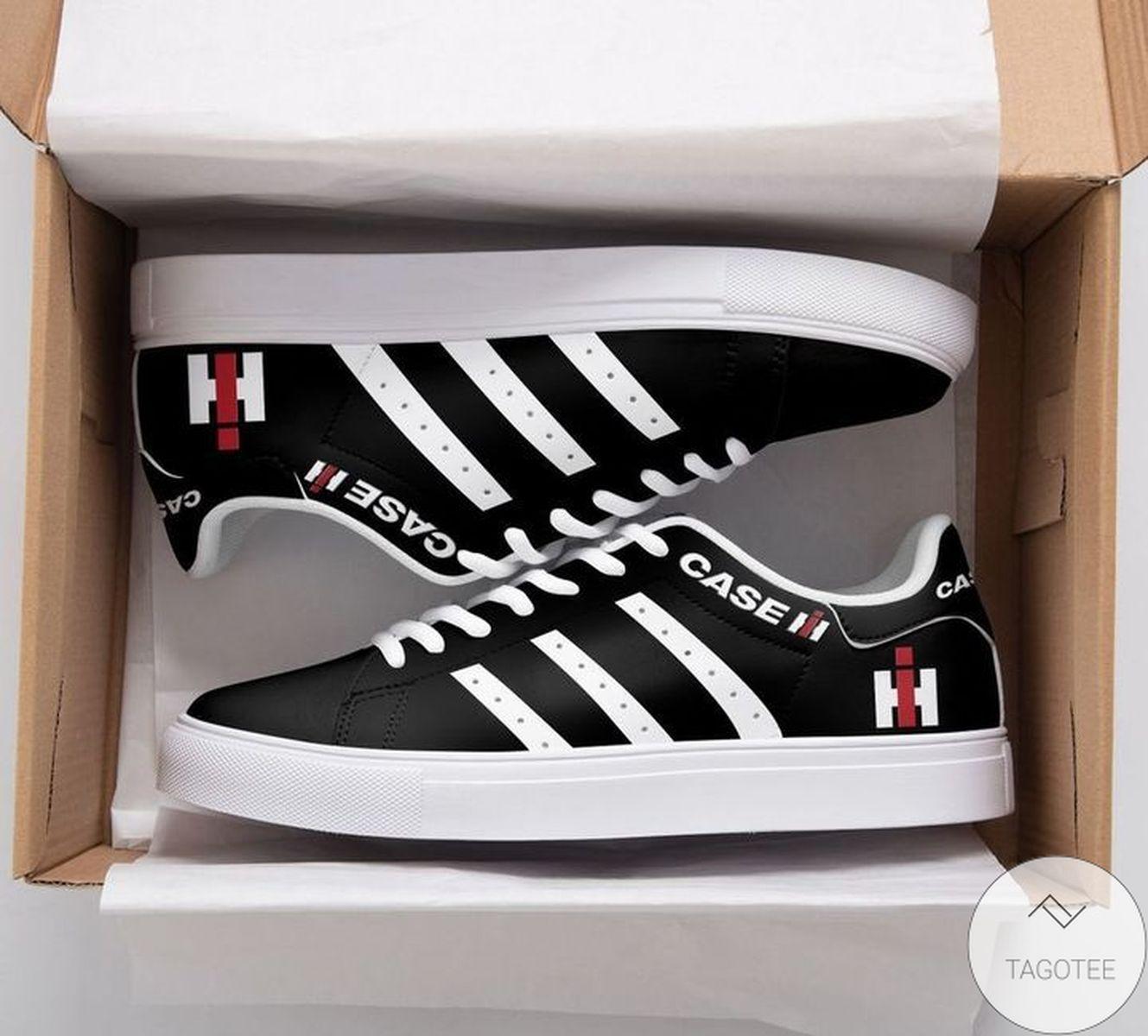 Vibrant Case Black Stan Smith Shoes