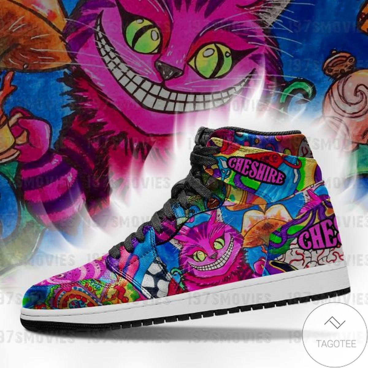 Rating Cheshire Cat Alice's Adventures in Wonderland Sneaker Air Jordan High Top Shoes