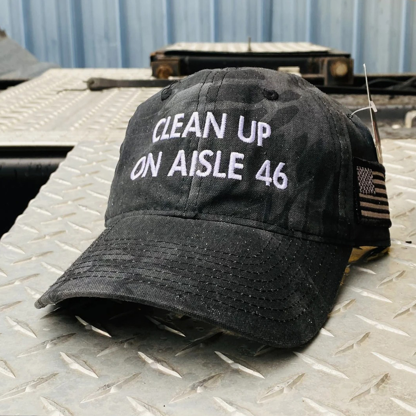 Clean-Up-On-Aisle-46-Hat