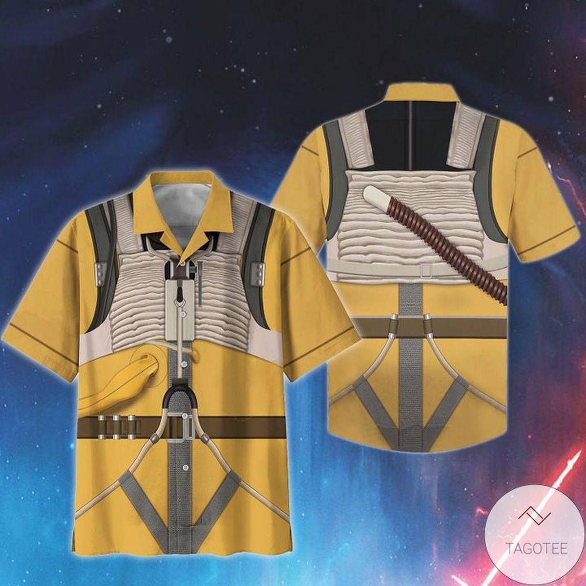 Top Rated Cosplay Star Wars Bossk Print Unisex Hawaiian Shirt