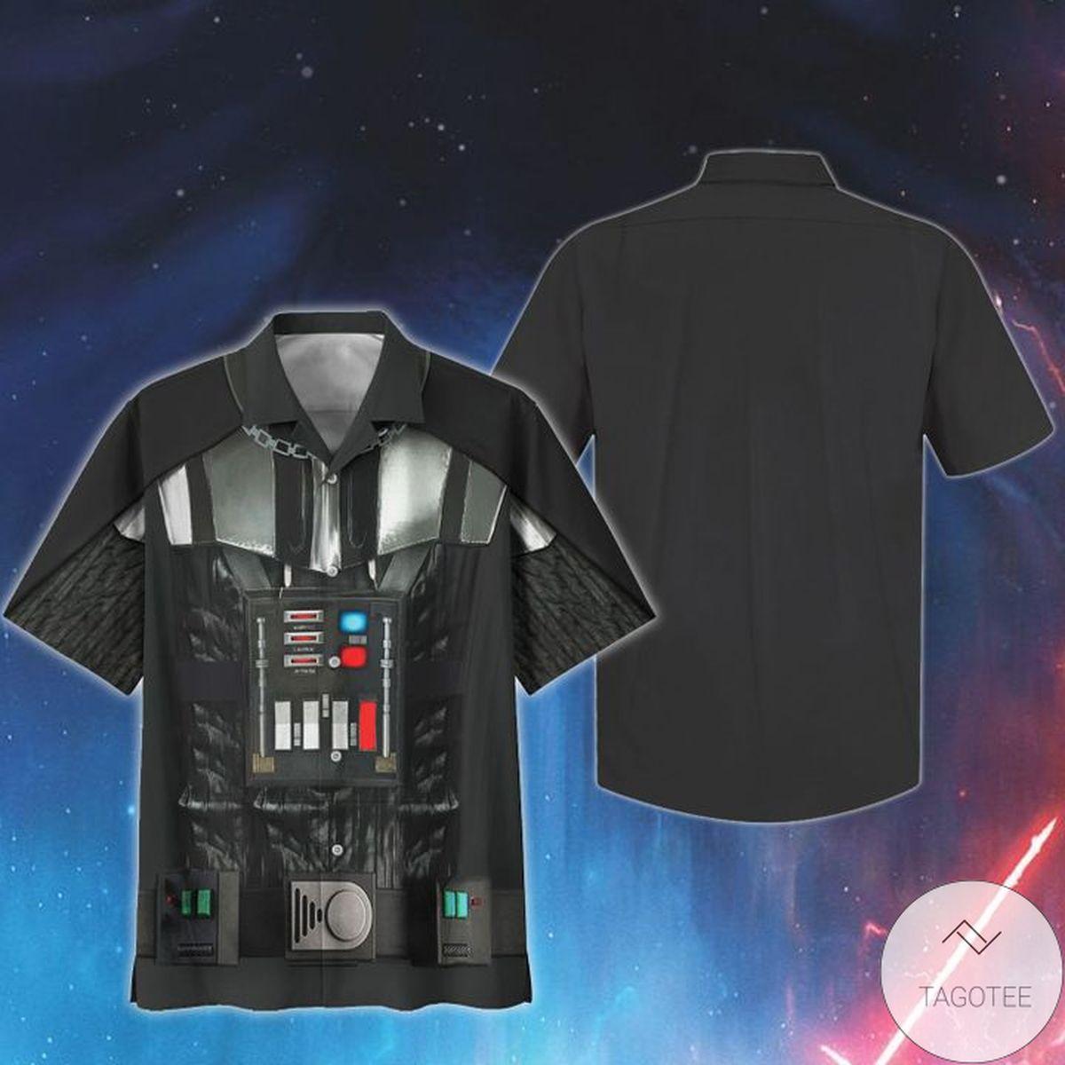 Nice Cosplay Star Wars Darth Vader Print Unisex Hawaiian Shirt