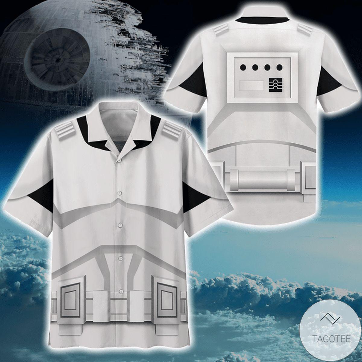 Discount Cosplay Star Wars Stomstroper Print Unisex Hawaiian Shirt