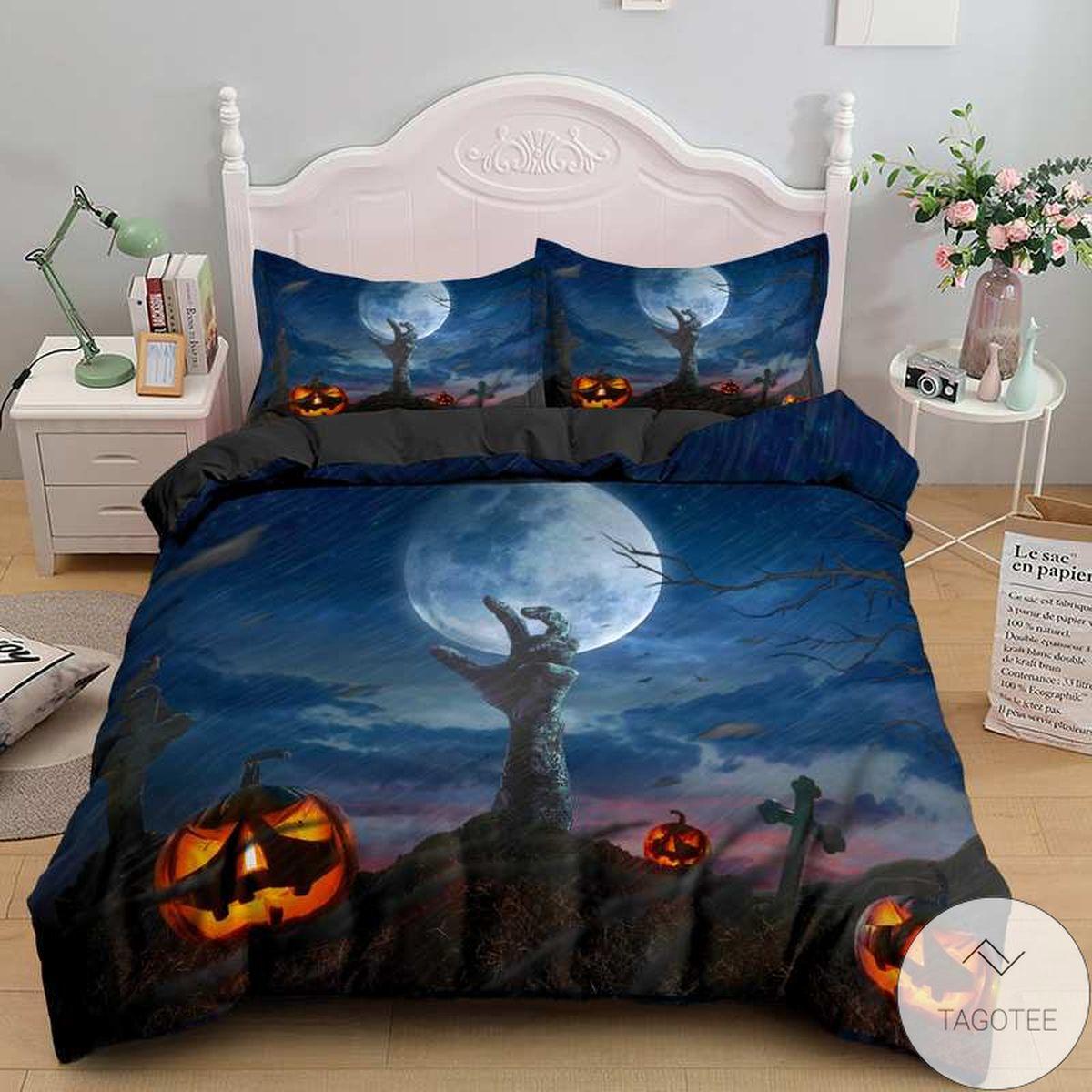 Creepy Halloween Bedding Set