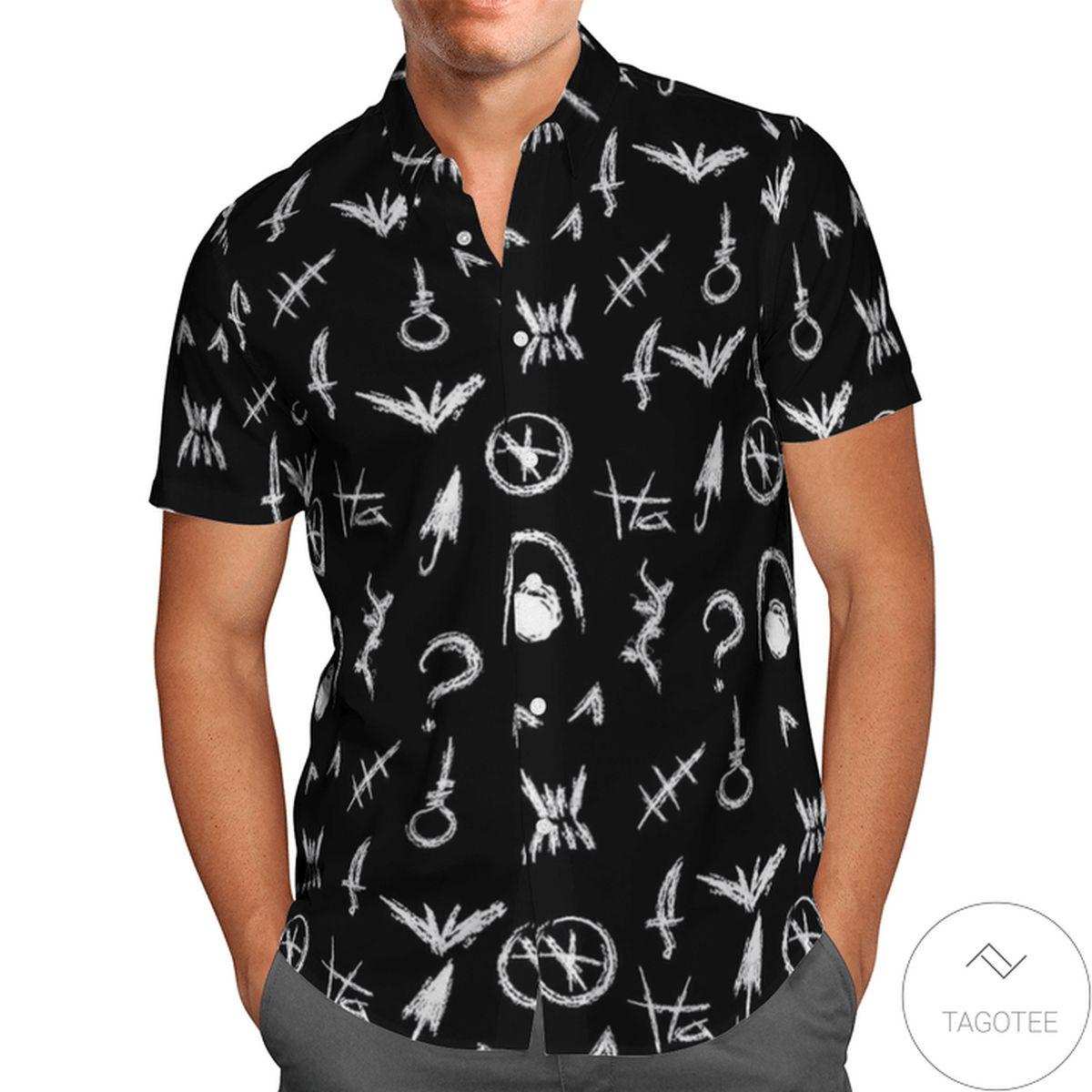 Dark Night Legends Hawaiian Shirt