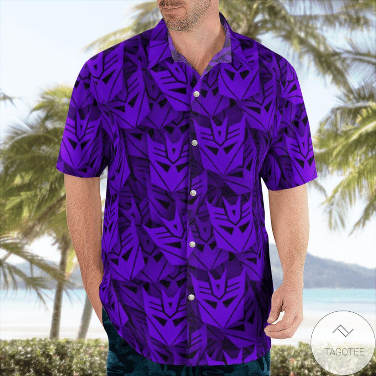 Great Quality Decepticon Transformer Hawaiian Shirt