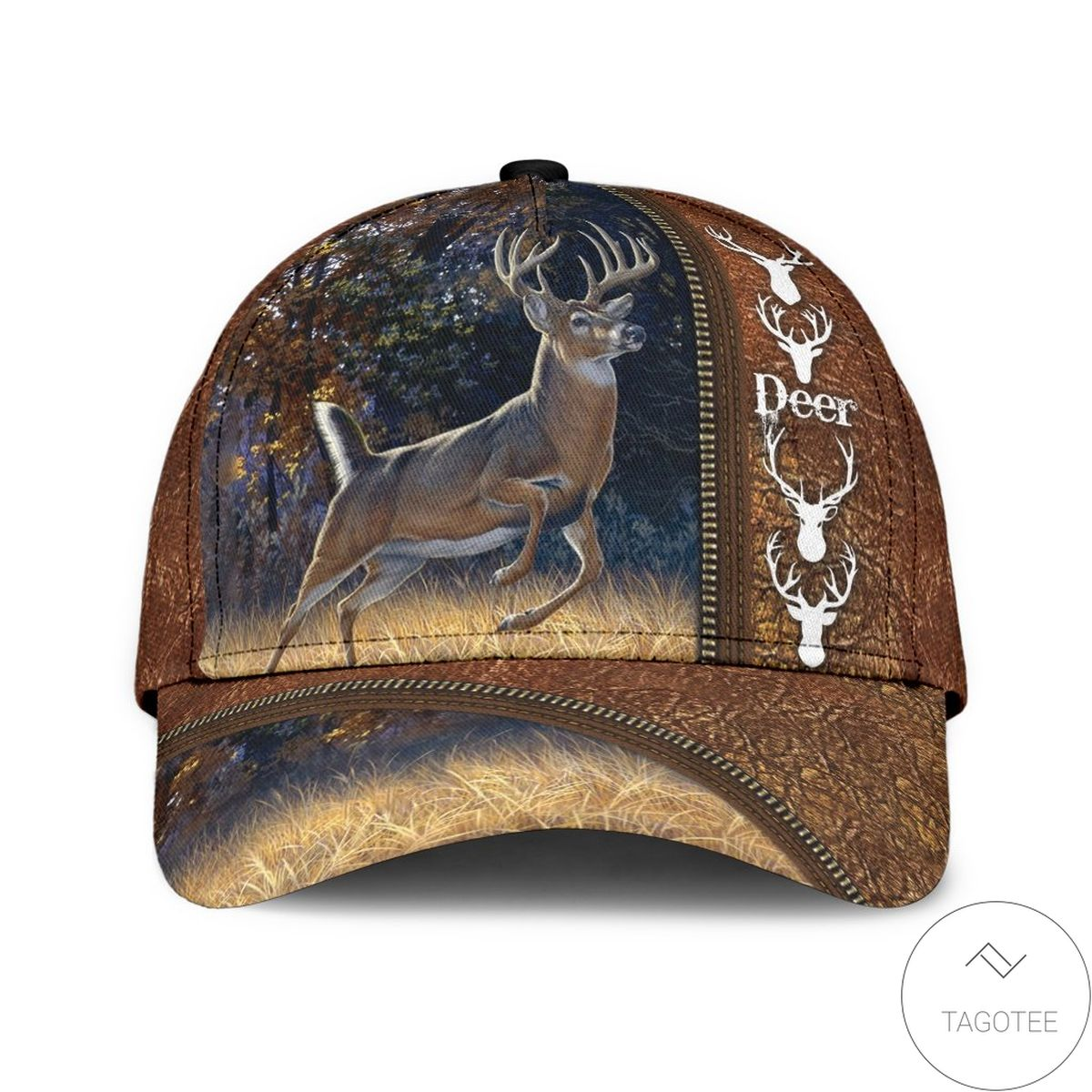 Perfect Deer Leather Classic Cap